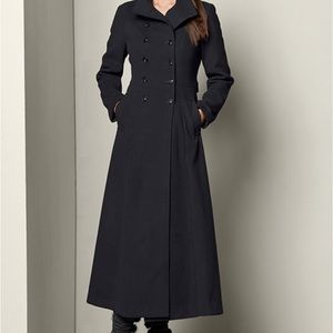 Vintage cashmere trench coat